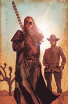 Jonah Hex and Tallulah Black  by Phil Noto