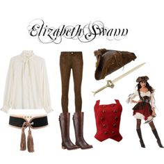 Elizabeth Swann from Pirates of The Carribean
