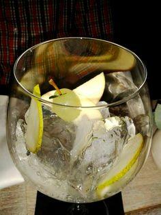 Gin Traube und Birne