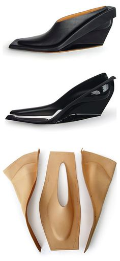 Marloes ten Bhömer | Pressed leather shoe