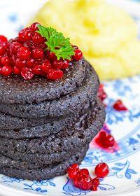 maistuu makialle: Veriletut Blackberry, Pudding, Fruit, Desserts, Food, Tailgate Desserts, Deserts, Custard Pudding, Essen