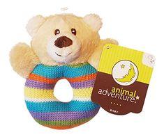 Baby Ring Plush ~ Bear Animal Adventure https://www.amazon.com/dp/B01BT3H7AW/ref=cm_sw_r_pi_dp_-6AAxbVGNJWZ4