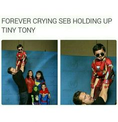 This would have happened if Bucky was there when Tony was a small kid.