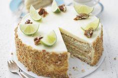 -- mojito genoise by Lorraine Pascale - perhaps the most incredible interpretation of moistness! Mojito, Baking Recipes, Cake Recipes, Dessert Recipes, Pie Cake, No Bake Cake, Cupcakes, Cupcake Cakes, Summer Desserts