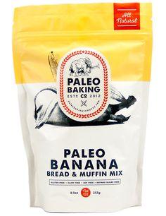 Paleo Banana Bread and Muffin Mix from Paleo Baking Company