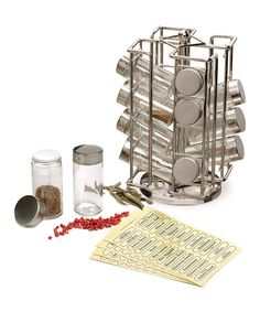 1000 ideas about revolving spice rack on pinterest for Carousel spice racks for kitchen cabinets