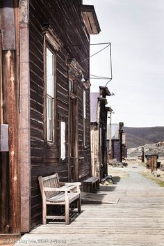 Bodie Ghost Town, Bodie Hills, Mono County, California