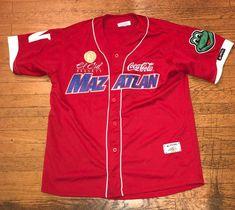 94df8cad2 Mazatlan Mexico XXL Baseball Jersey Stitched Elsiglo El Cid Resorts Coca  Cola