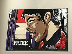 Diy pop art this painting is amazing you can do it yourself just brushstroke exercise turns into an acrylic paintingiceless diy artacrylic solutioingenieria Choice Image