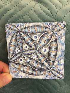 12 Days of Zentangle - Day 7 Zen Colors, 12 Days, Tangled, Zentangle, Atelier, Rapunzel, Zentangle Patterns, Zentangles