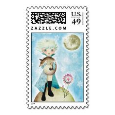 Wintry Prince Postage Stamps