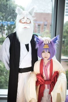 Title : No Game No Life Character : Izuna and Ino Hatsuse Cosers : Shiki Cosplayer and David Tan [ Singapore ]