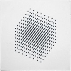 2^9 = 2 x 2 x 2 x 2 x 2 x 2 x 2 x 2 x 2 = 512 dots, arranged in cubes. 2x2 dots arranged in cubes, arranged in 2x2 meta-cubes, arranged in 2x2 meta-cubes. With this, Geometry Daily goes on a hiatus. Yes, I will pause posting. Instead of doing even more graphics, I would like to go deeper. 512 graphics is a lot of material and some ideas demand more attention and want to go elsewhere, on paper, shirts and how-knows. The about page, the shops, my website, they are in dire need for some ...