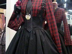 Edgy Outfits, Mode Outfits, Pretty Outfits, Pretty Dresses, Scene Outfits, Gothic Outfits, Hot Topic Outfits, Punk Dress, Lolita Dress
