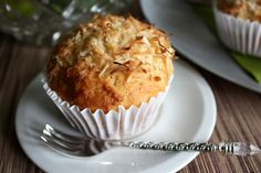 lime marmalade and coconut muffins