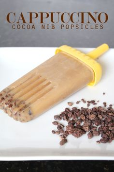 MadeByGirl: Food: Cappuccino-Cocoa Nib Popsicles