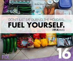 Fuel yourself with the right foods! loving the 21 day fix container system <3
