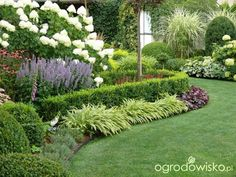 When it comes to summer, many individuals associate backyards with picnics, barbeques, swimming, and outdoor sports. Front House Landscaping, Outdoor Landscaping, Side Garden, Lawn And Garden, Farm Gardens, Outdoor Gardens, Hampton Garden, Garden Borders, Garden Cottage