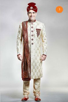 Manyavar exclusive sherwani