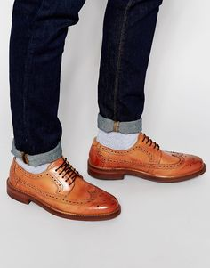 H By Hudson Callaghan Derby Brogue Shoes