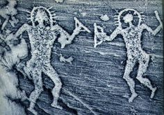 "5 Ancient Petroglyphs & Cave Paintings that depict ""Ancient Aliens"" Ancient Aliens, Aliens And Ufos, Ancient History, European History, American History, Objets Antiques, Alien Theories, Art Rupestre, Unexplained Mysteries"