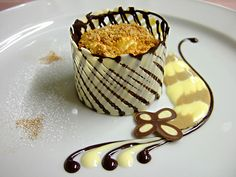 Gourmet Food Dessert Recipes About Elegant Desserts, Fancy Desserts, Gourmet Desserts, Beautiful Desserts, Plated Desserts, Delicious Desserts, Dessert Recipes, Lebanese Desserts, Spring Desserts