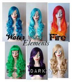 """""""Elemental hair"""" by christinedaae223 ❤ liked on Polyvore featuring beauty"""