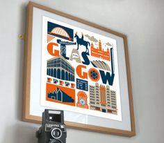 Susan Taylor Glasgow Print
