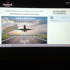 Así te espera la plataforma de #Conecta2EnLaRed prontita para descargar junto contigo!  Accede por aquí... welingtondesosa.com/masinfo