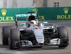Blog Esportivo do Suíço:  Hamilton vence Rosberg em primeiro treino da decisão no GP de Abu Dhabi