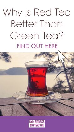 Why is Red Tea Better Than Green Tea - Gym Fitness Motivation Red Tea Benefits, Healthy Drinks For Kids, Health Drinks Recipes, Detox Program, Fitness Motivation, Gym Fitness, Weight Loss Drinks, Detox Tea, Gym Workouts