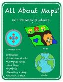 All About Maps! Mapping for Primary Students by First Grade Fundamentals Social Studies Projects, Social Studies Lesson Plans, Classroom Library Labels, Father's Day Activities, First Grade Worksheets, Map Skills, Study History, Primary Education, Teacher Newsletter