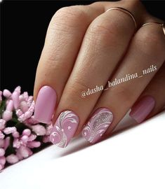 NagelDesign Elegant ( Spring Nail Ideas For. ) - NagelDesign Elegant ( Spring Nail Ideas For… ) # Best Picture For unique spring nails For Y - Spring Nail Colors, Spring Nail Art, Nail Designs Spring, Spring Nails, Summer Nails, Nail Art Designs, Nails Design, Cute Nails, Pretty Nails