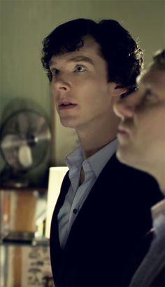 Sherlock - benedict cumberbatch my bby Sherlock Bbc, Benedict Sherlock, Sherlock Fandom, Benedict Cumberbatch Sherlock, Martin Freeman, John Watson, Johnlock, Foto Doctor, Imitation Game