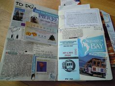 Quirk Crafts: Travel Journal: My US Smash Book