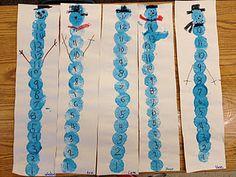 Kindergarten Math: snowball counting to make a snowman! perfect for printing numbers. Kindergarten Rocks, Kindergarten Activities, Kindergarten Teachers, Teaching Math, Teaching Ideas, Winter Fun, Winter Theme, Winter Ideas, Snow Theme