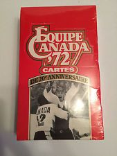 Team Canada Hockey 1972 Equipe Canada FRENCH Cards Sealed Box 24 Packs