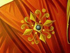 Byzantine Icons, Byzantine Art, Religious Icons, Religious Art, Icon Clothing, Paint Icon, Eye Details, Ornaments Design, Cartoon Icons