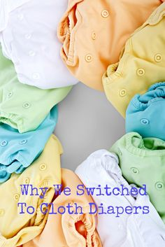 Why We Switched To Cloth Diapers