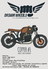 """Ottonero Cafe Racer: """"Copper"""" /and / """"Daisy"""""""