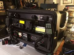 Image result for ham radio go box