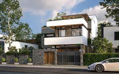 Những Mẫu Thiết Kế Nhà Phố Đẹp Home Fashion, Mansions, House Styles, Outdoor Decor, Home Decor, Decoration Home, Manor Houses, Room Decor, Villas