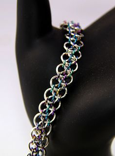 Chain Maille Tutorial Dragon Steps Bracelet by AussieMaille