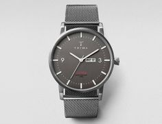 A cool wristwatch inspired from a mid-century design. To call the Dusk Klinga Watch by Triwa another simple wristwatch would be an understatement.