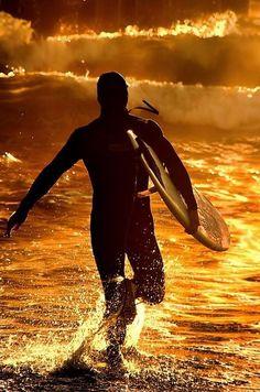 #sea #surf