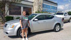 CHEYENNE's new 2012 DODGE  AVENGER ! Congratulations and best wishes from Benny Boyd Motor Company - Marble Falls and DEE NIXON.