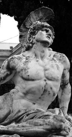 Achilles dying | Achilleion Palace | Corfu (Greece)