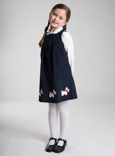 Find gorgeous dresses for girls from Trotters. All our girls' dresses are made in Europe to the highest quality and our exclusive designs range from traditional smocking to sparkling party dresses. Girly Girl Outfits, Teenager Outfits, Kids Outfits, Kpop Fashion Outfits, Kids Fashion, Girls Party Dress, Girls Dresses, Preppy Kids, Girls School