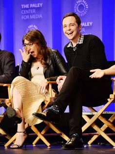 Star Tracks: Monday, March 21, 2016 | LAUGH TILL YOU CRY | Actors Mayim Bialik and Jim Parsons get the giggles while chatting about The Big Bang Theory at PaleyFest in Hollywood on Wednesday.