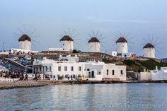 Mykonos Island Windmills, Greece